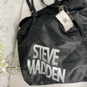Steve Madden Large Black Travel or Satchel Bag